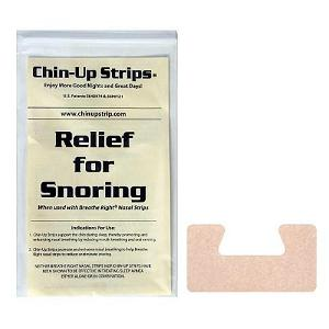 CPAP-Clinic Accessories : # 22230 Chin Up Strips Horseshoe , Tan, (30 Strips)