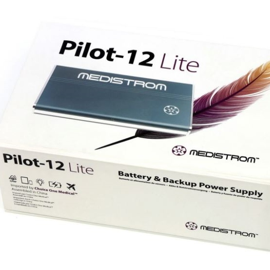 CPAP-Clinic Accessories : # Pilot-12-Lite Pilot-12 Lite Battery Pack for Philips-Respironics, Z1 and Devilbiss  , 1-night-/catalog/accessories/Medistrom/Pilot-12-lite-04