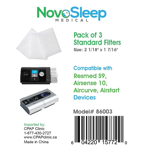 NovoSleep Accessories : # 86003 Resmed Compatible Standard Filters For Resmed S9, AirSense 10, AirCurve Machines , pack of 3-/catalog/accessories/NovoSleep/86003-01