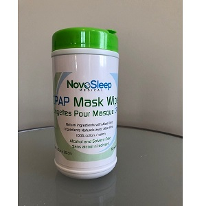 NovoSleep Accessories : # NS1001 CPAP Cleaning Wipes All natural ingredients with Aloe Vera , 62 wet wipes-/catalog/accessories/NovoSleep/wipes-1001-01