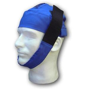 CPAP-Clinic Accessories : # PS-507-RB Universal Chin Strap with Cap and Tube Retainer , L/ XL