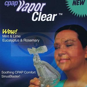 Pur-Sleep Accessories : # VAPORR-25 Aromatherapy for CPAP Aromatic VaporClear Combo Pack , Clear and Calm,  25 Pkg