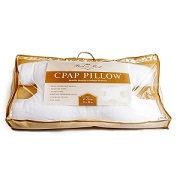 CPAP: Best in Rest CPAP Pillow with hypoallergenic down, alternative filling and luxurious cotton removable pillowcase