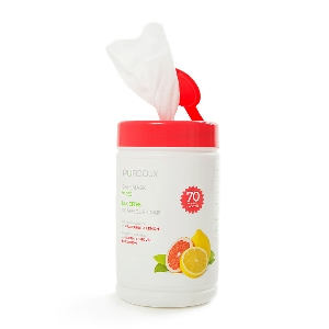 CPAP-Clinic Accessories : # 522422 Cleanzex CPAP Wipes can Grapefruit Lemon (Citrus Scent) , 70 wipes