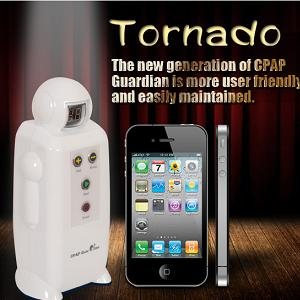 CPAP-Clinic Accessories : # CG1611 CPAP Guardian: Tornado Ozone Disinfector for CPAP Equipment
