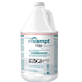 KEGO Accessories : # 11401 PREempt CS20 Sterilant and High Level Disinfectant , 1L