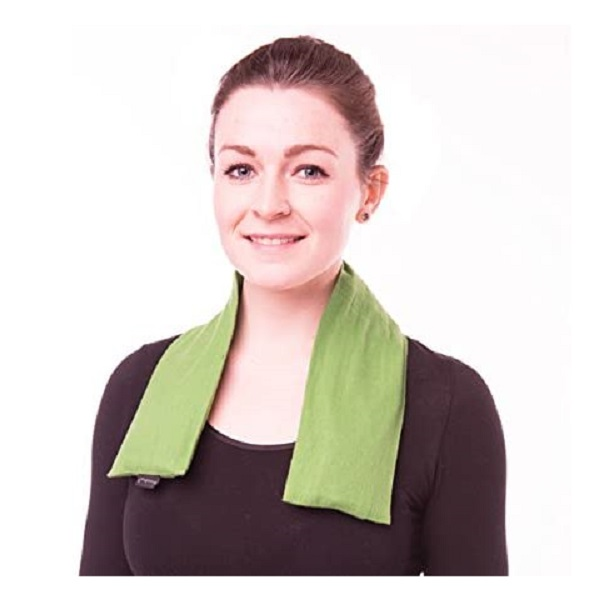 KEGO Accessories : # 800433 TheraPeaz Pack w/green flannel wrap , Neck, 3 pk, 7.5x3.25 inch each-/catalog/accessories/kego/800433-01
