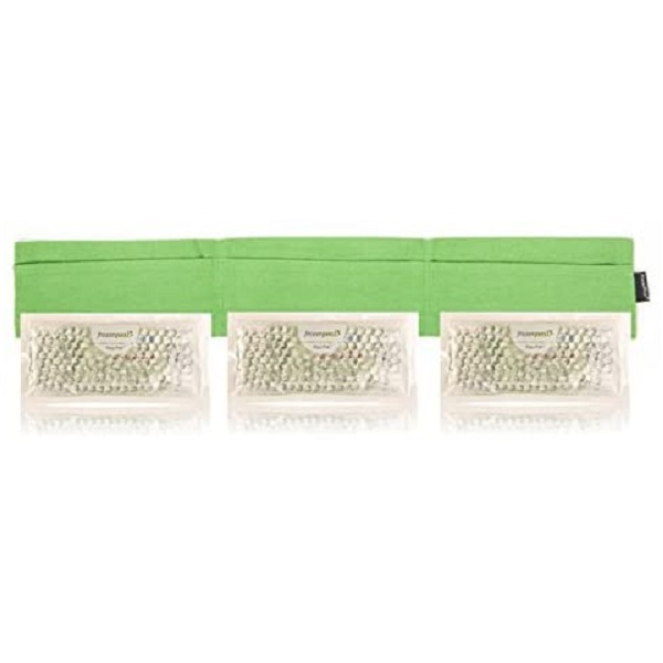KEGO Accessories : # 800433 TheraPeaz Pack w/green flannel wrap , Neck, 3 pk, 7.5x3.25 inch each-/catalog/accessories/kego/800433-04
