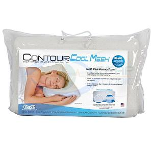KEGO Anti-Snoring : # 900248 Contour Cool Mesh Memory Foam Pillow