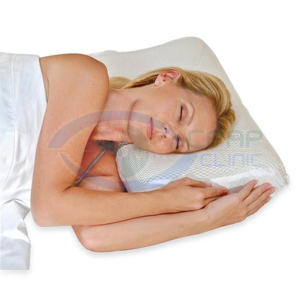 KEGO Anti-Snoring : # 900248 Contour Cool Mesh Memory Foam Pillow-/catalog/accessories/kego/900248-04