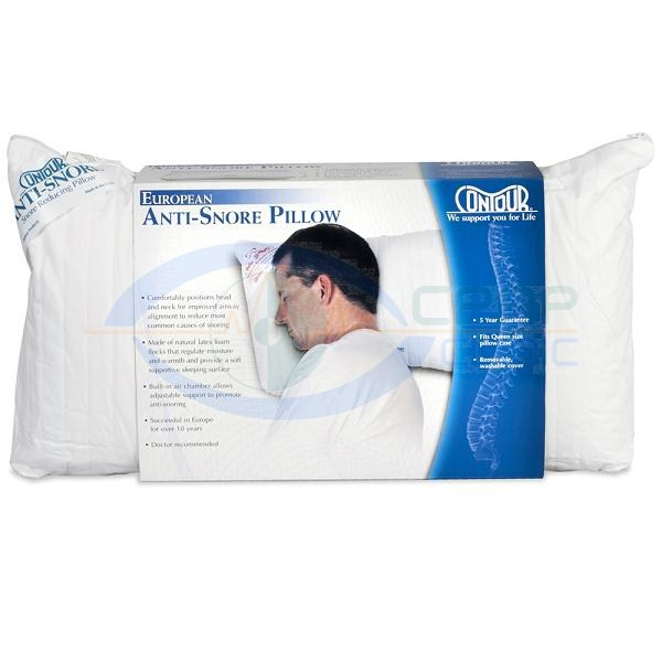 adult anti thera memory large snore pillows pillow foam fair of therapeutica white
