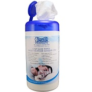 CPAP: Contour Unscented CPAP Cleaner Mask Wipes