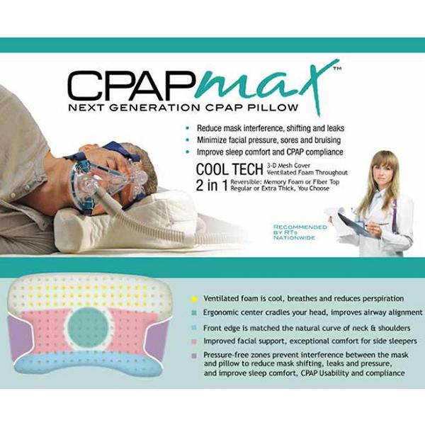 KEGO Accessories : # 900322 Contour CPAPmax Pillow-/catalog/accessories/kego/900322-03