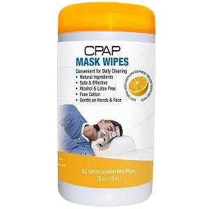 KEGO Accessories : # 900338-1 Contour Citrus Scented CPAP Cleaner Mask Wipes , 62 Wipes Each