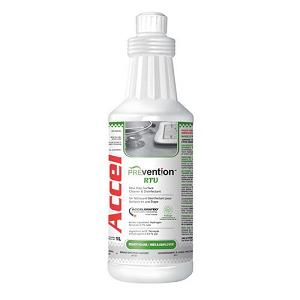 KEGO Accessories : # ACCPREVR1-1 ACCEL PREVention Ready To Use Surface Cleaner and Disinfectant , 1L