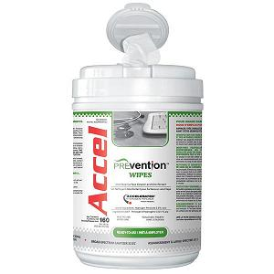 KEGO Accessories : # ACCPREVW-6_7 ACCEL PREVention Ready To Use Wipes , 160 Wipes (6 inches X 7inches)