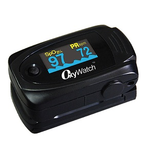 KEGO Accessories : # MD300C63 OxyWatch Finger Pulse Oximeter  , Features a LED Display fo