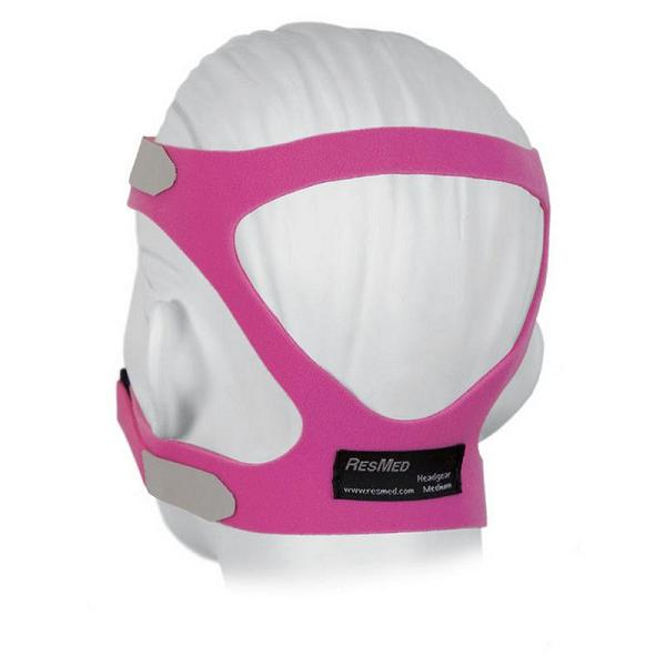 ResMed Replacement Parts : # 16122 Universal Headgear , Medium (Pink)-/catalog/accessories/resmed/16122-01