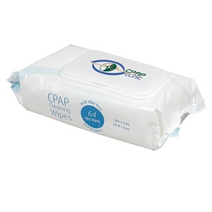 Sunset Accessories : # CAP1003SPL CPAP Cleaning Wipes Soft pack , 64 wipes