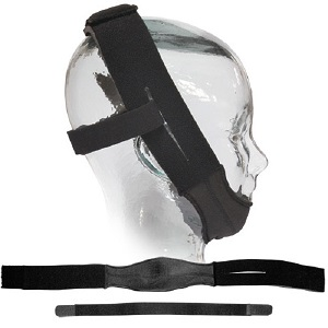 Sunset Anti-Snoring : # CS006 Premium Chin Strap  , Black-/catalog/accessories/sunset/CS006-01