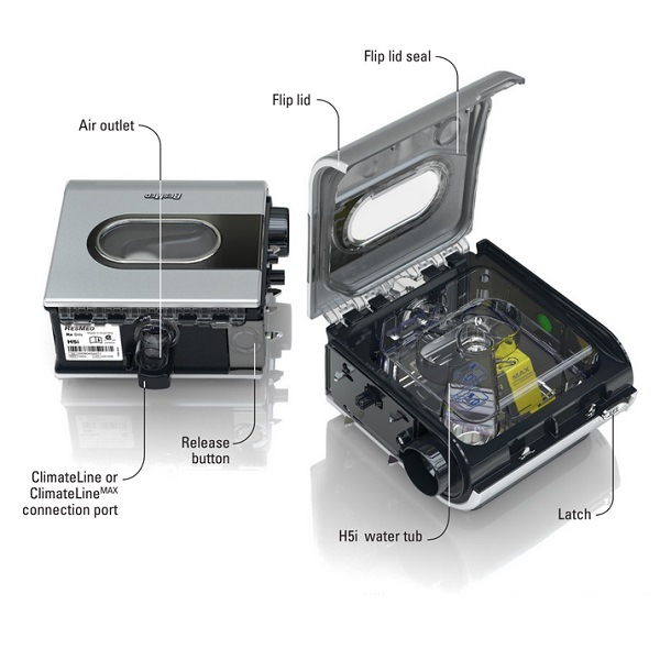 how to clean resmed s9 cpap