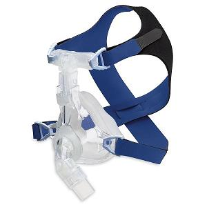 DeVilbiss CPAP Full-Face Mask : # 97320 EasyFit Silicone Full with Headgear , Medium