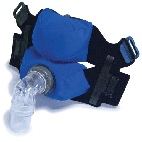 Circadiance Replacement Parts : # 100970 SleepWeaver Anew Blue Full Face Mask without Headgear , Small-/catalog/full_face_mask/kego/100980-01