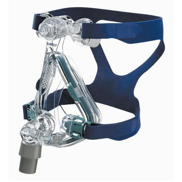 ResMed CPAP Full-Face Mask : # 61202 Mirage Quattro with Headgear , Medium-/catalog/full_face_mask/resmed/61200-01