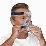 ResMed CPAP Full-Face Mask : # 61200 Mirage Quattro with Headgear , Extra Small