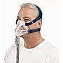 ResMed CPAP Full-Face Mask : # 61702 Quattro FX with Headgear , Large (Navy)