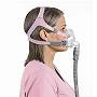 ResMed CPAP Full-Face Mask : # 62501 Quattro FX for Her with Headgear , Small (Pink)
