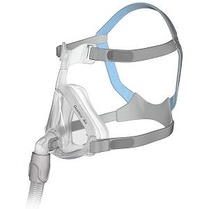 ResMed CPAP Full-Face Mask : # 62702 Quattro Air with Headgear , Medium
