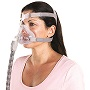 ResMed CPAP Full-Face Mask : # 62742 Quattro Air  for Her, with Headgear , Medium