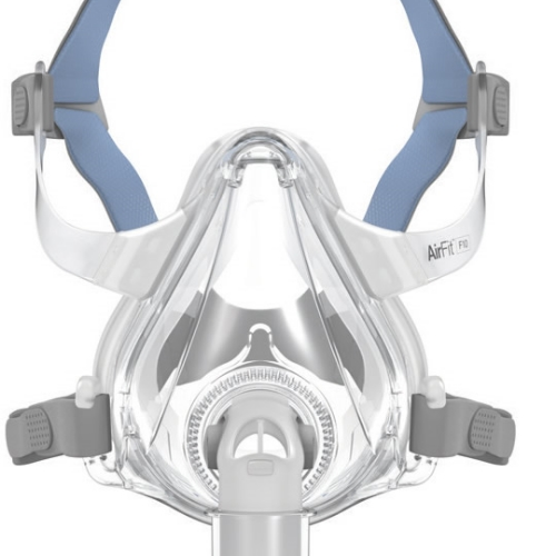 ResMed CPAP Full-Face Mask : # 63101 AirFit F10 with headgear , Small-/catalog/full_face_mask/resmed/63101-01