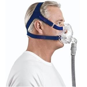 ResMed CPAP Full-Face Mask : # 61701 Quattro FX with Headgear  , Medium (Navy)-/catalog/full_face_mask/resmed/Resmed-quattro-FX-06