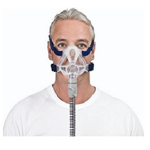 ResMed CPAP Full-Face Mask : # 61701 Quattro FX with Headgear  , Medium (Navy)-/catalog/full_face_mask/resmed/Resmed-quattro-FX-07