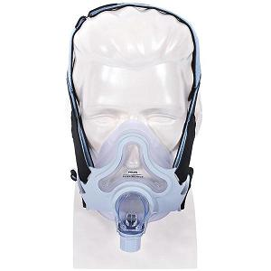 Philips-Respironics CPAP Full-Face Mask : # 1047918 FullLife with Headgear , Large