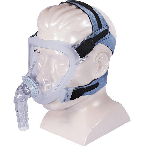 Philips-Respironics CPAP Full-Face Mask : # 1060803 FitLife with Headgear , Small-/catalog/full_face_mask/respironics/1060801-03