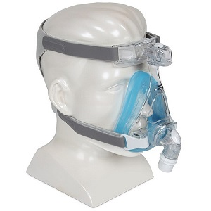 Philips-Respironics CPAP Full-Face Mask : # 1090401 Amara Gel with headgear , Small
