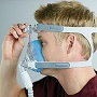 Philips-Respironics CPAP Full-Face Mask : # 1090406 Amara Gel with headgear , Large
