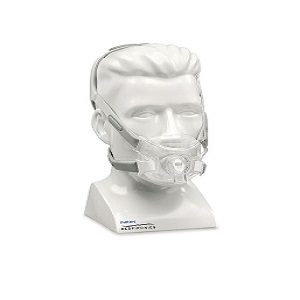 Philips-Respironics CPAP Full-Face Mask : # 1090602 Amara View with Headgear , Small