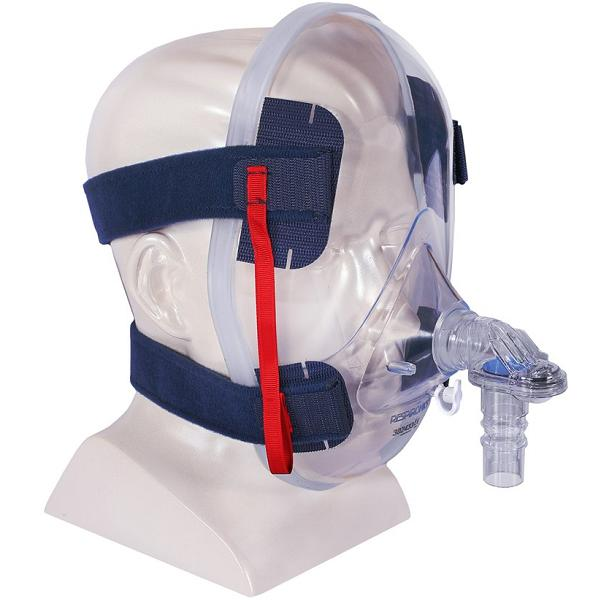 Philips-Respironics CPAP Full-Face Mask : # 302433 Total Face with Headgear-/catalog/full_face_mask/respironics/302433-02