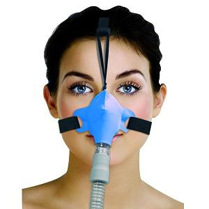Circadiance CPAP Nasal Mask : # 100274 SleepWeaver Advance with Headgear , Blue