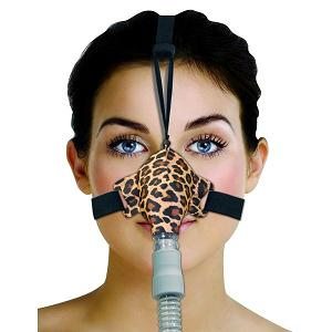 Circadiance CPAP Nasal Mask : # 100285 SleepWeaver Advance with Headgear , Leopard