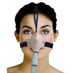Circadiance CPAP Nasal Mask : # 100332 SleepWeaver Advance with Headgear , Beige