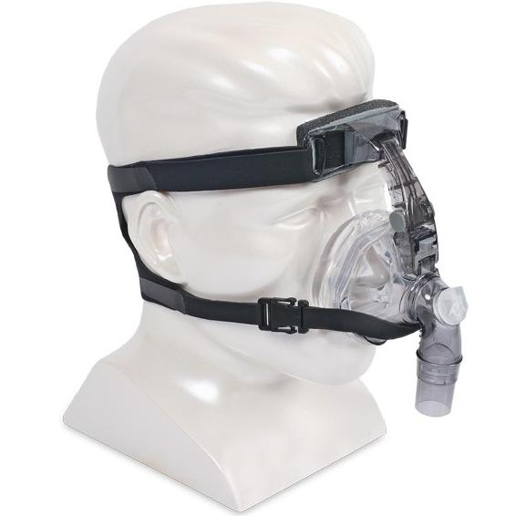 DeVilbiss CPAP Nasal Mask : # 9354S FlexSet Silicone with Headgear , Small-/catalog/nasal_mask/devilbiss/9354D-02