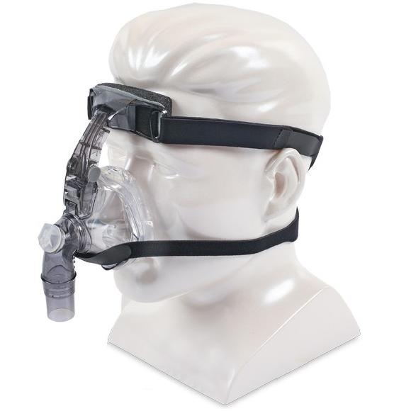 DeVilbiss CPAP Nasal Mask : # 9354S FlexSet Silicone with Headgear , Small-/catalog/nasal_mask/devilbiss/9354D-03