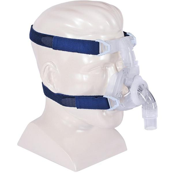 DeVilbiss CPAP Nasal Mask : # 97220 EasyFit Silicone with Headgear , Medium-/catalog/nasal_mask/devilbiss/97210-04