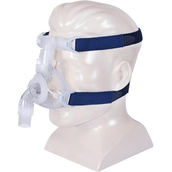 DeVilbiss CPAP Nasal Mask : # 97220 EasyFit Silicone with Headgear , Medium-/catalog/nasal_mask/devilbiss/97210-05