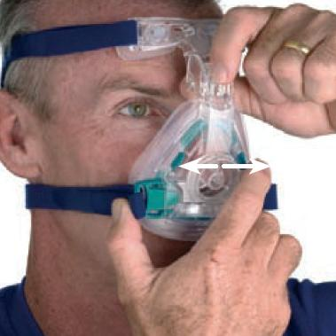ResMed CPAP Nasal Mask : # 60100 Mirage Activa with Headgear , Standard-/catalog/nasal_mask/resmed/60100-04
